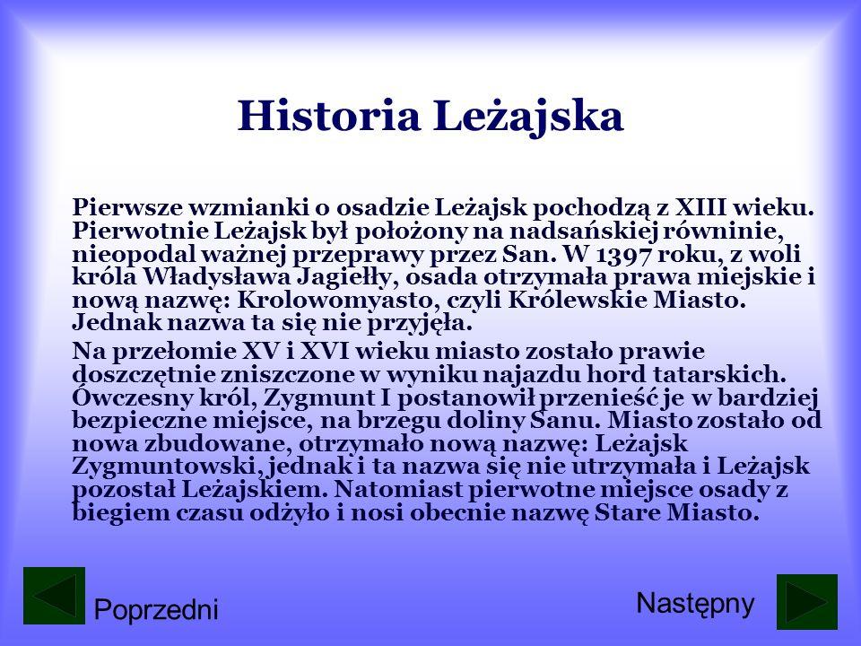 Historia Leżajska Następny Poprzedni