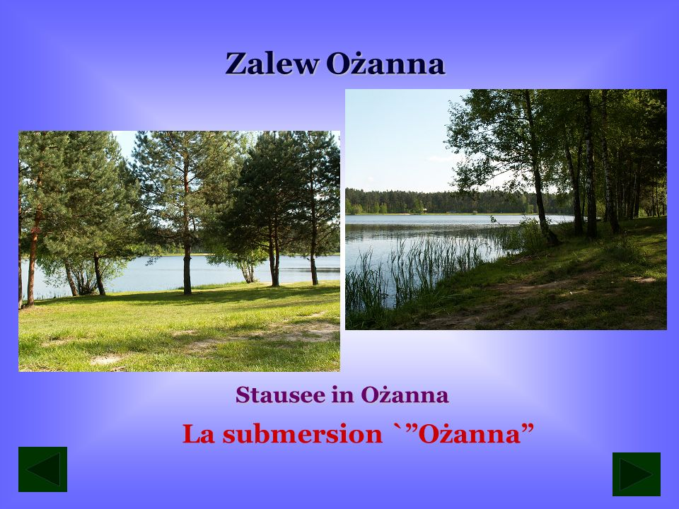 La submersion ` Ożanna