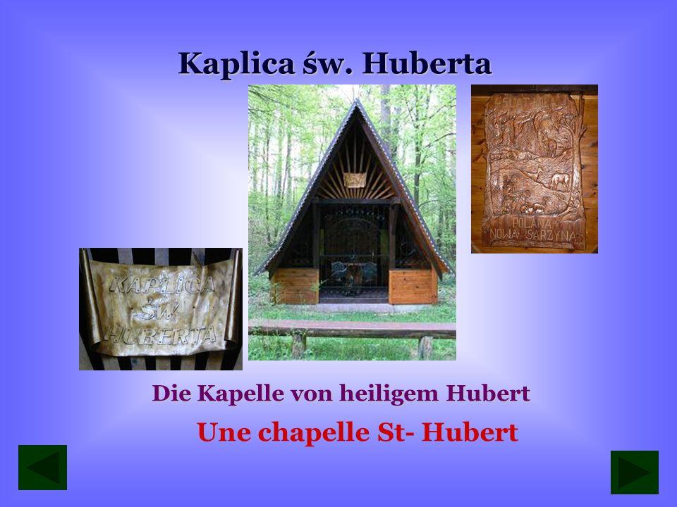 Die Kapelle von heiligem Hubert Une chapelle St- Hubert