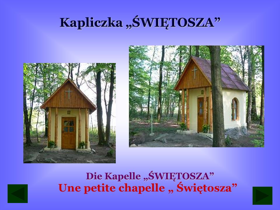 """Kapliczka """"ŚWIĘTOSZA"""
