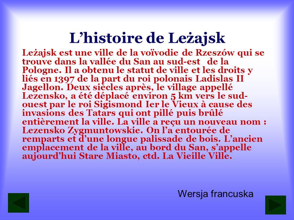 L'histoire de Leżajsk Wersja francuska