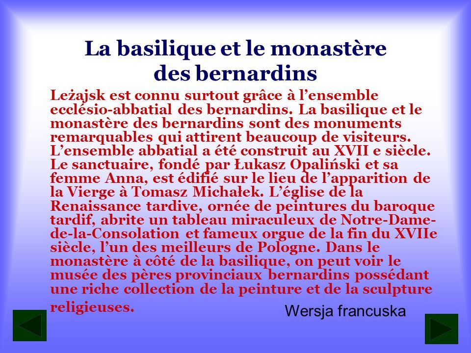 La basilique et le monastère des bernardins