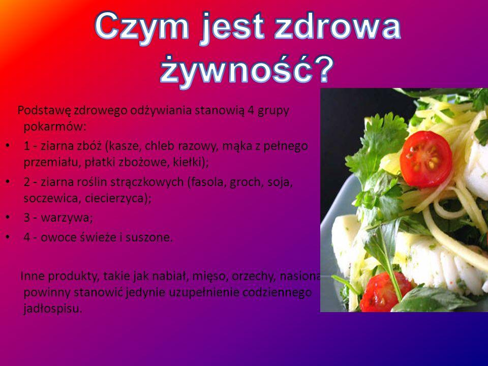 Czym jest zdrowa żywność