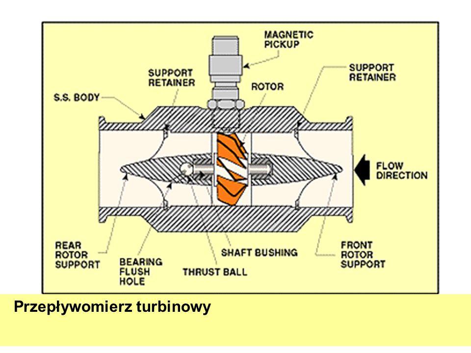 Przepływomierz turbinowy
