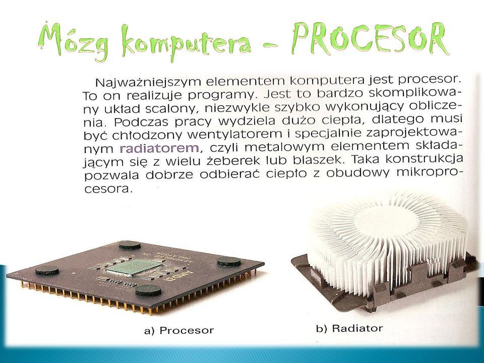 Mózg komputera - PROCESOR