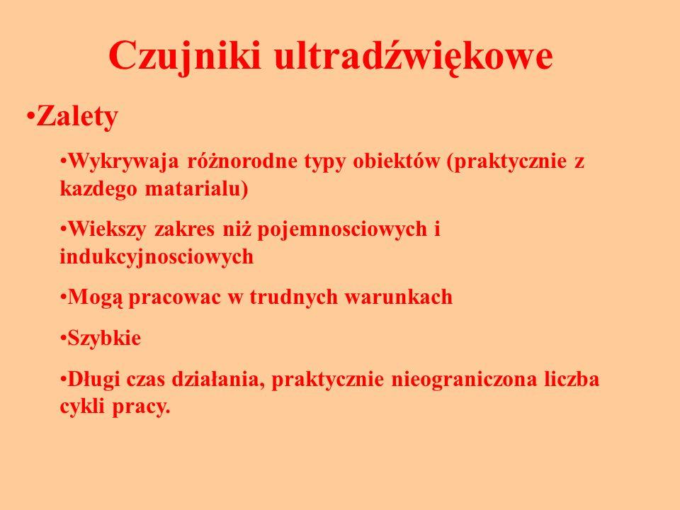 Czujniki ultradźwiękowe