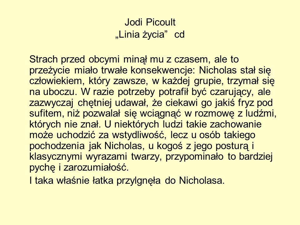 "Jodi Picoult ""Linia życia cd"