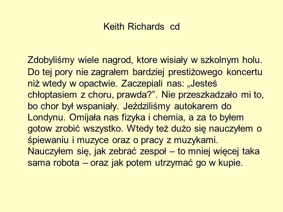 Keith Richards cd