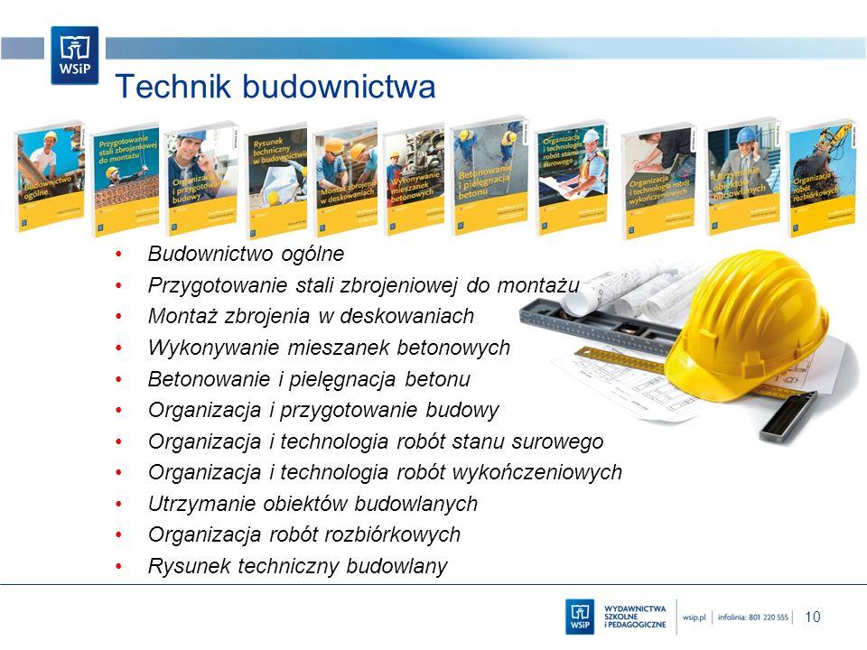 Technik budownictwa Budownictwo ogólne
