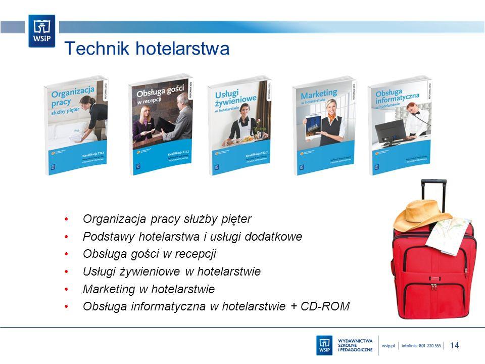 Technik hotelarstwa Organizacja pracy służby pięter