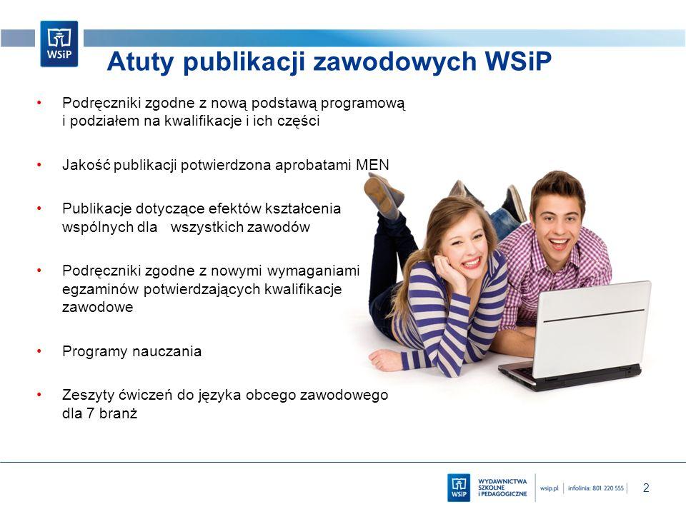 Atuty publikacji zawodowych WSiP