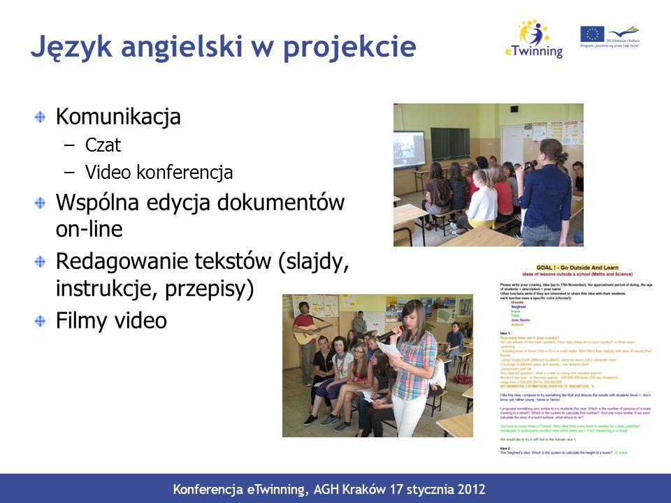Język angielski w projekcie