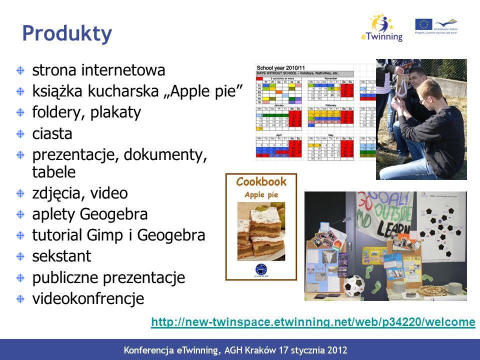 Konferencja eTwinning, AGH Kraków 17 stycznia 2012