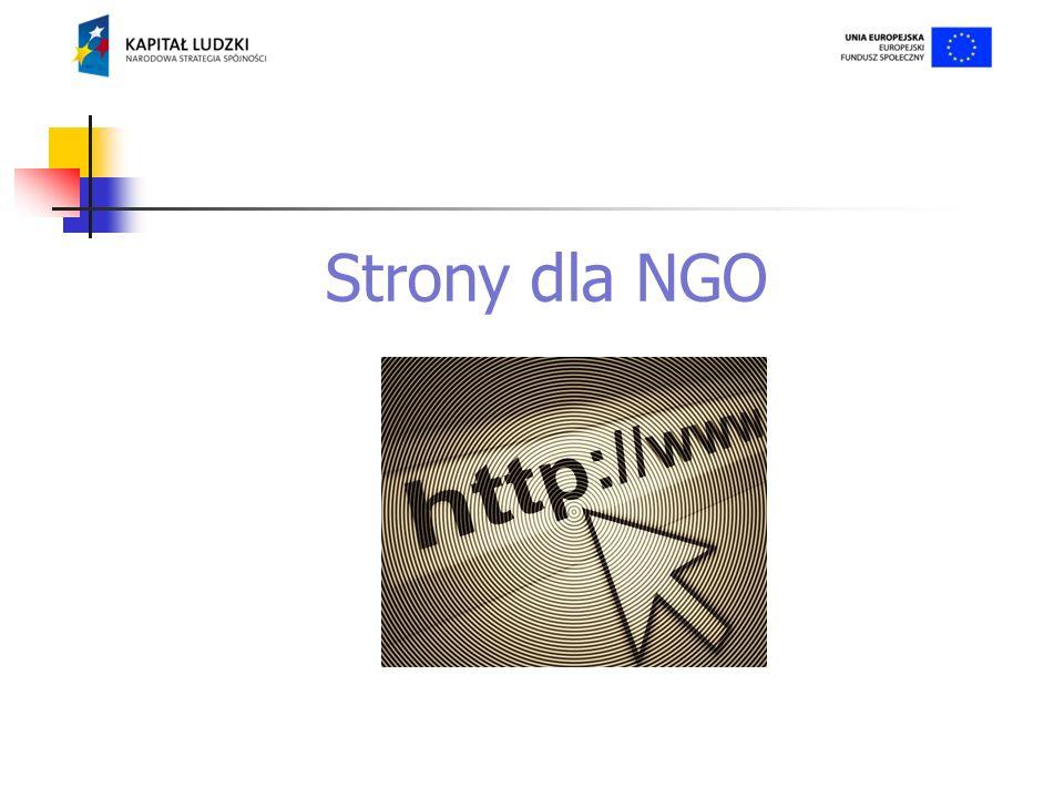 Strony dla NGO