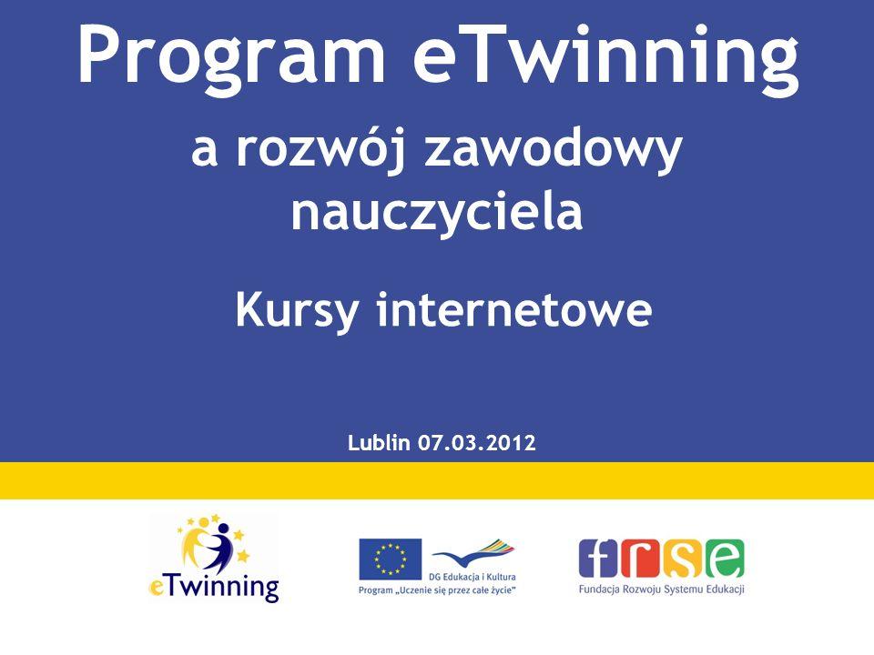 Program eTwinning a rozwój zawodowy nauczyciela