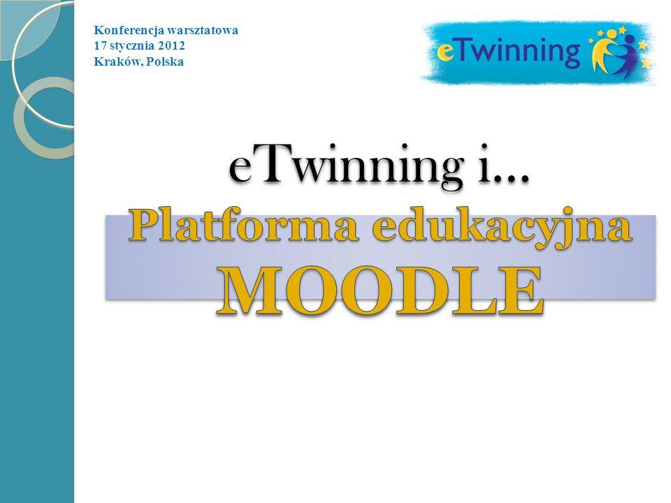 eTwinning i… Platforma edukacyjna MOODLE