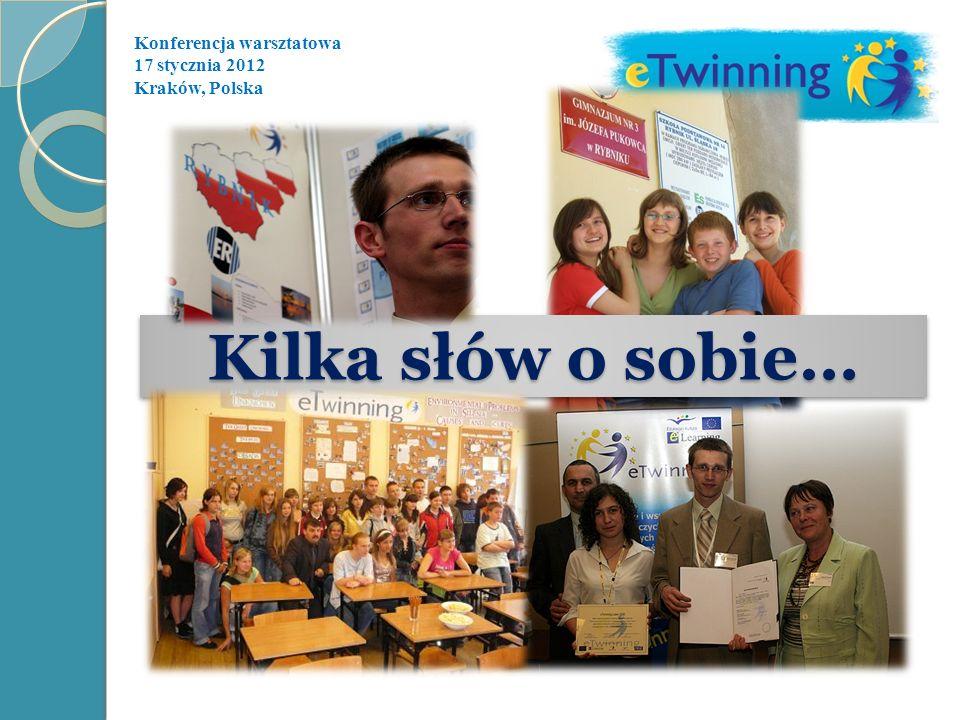 Kilka słów o sobie… Konferencja warsztatowa 17 stycznia 2012