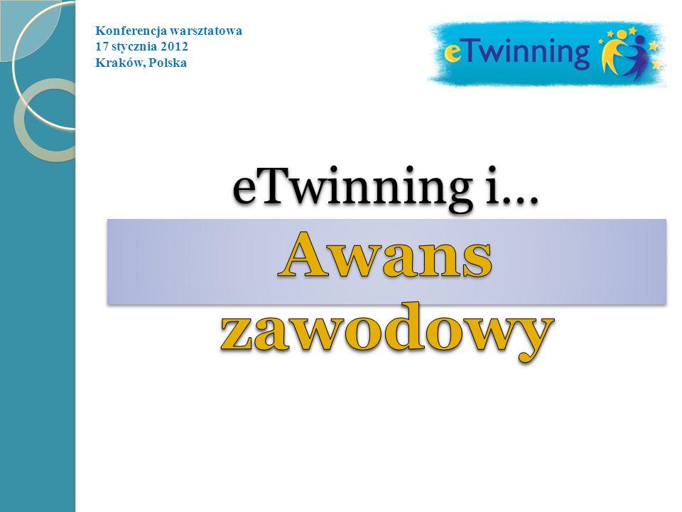 eTwinning i… Awans zawodowy