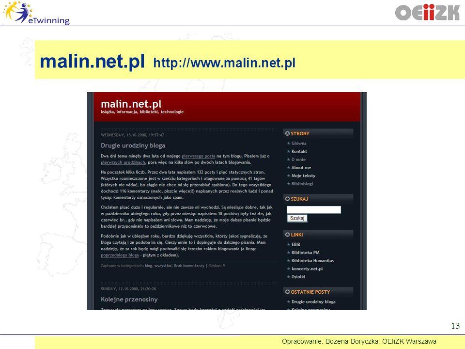 malin.net.pl http://www.malin.net.pl