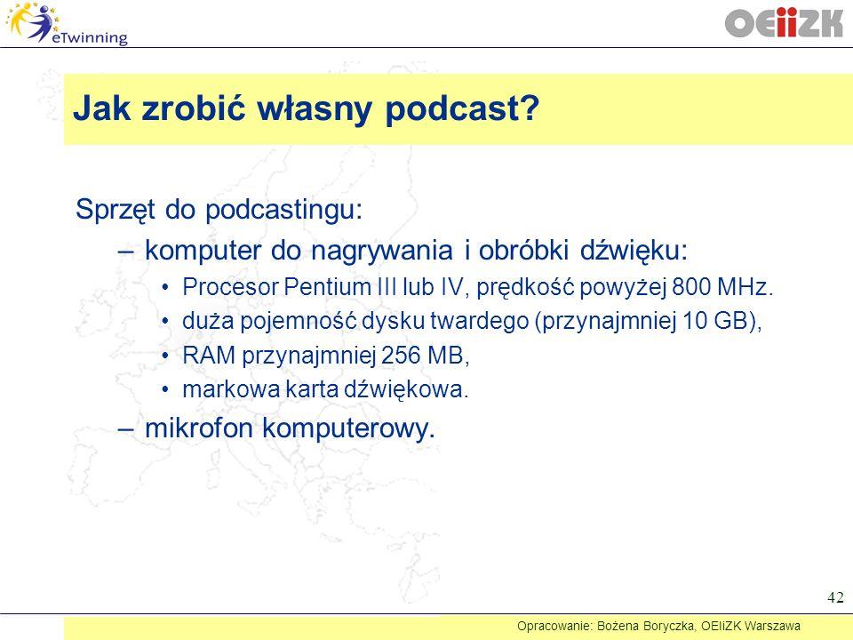 Jak zrobić własny podcast