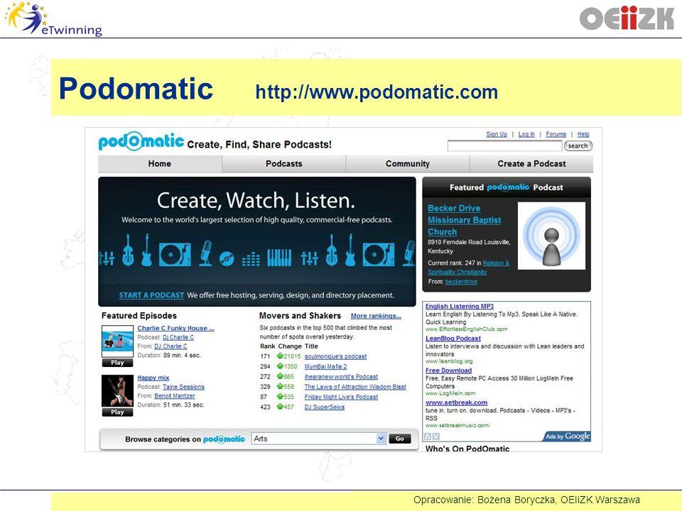 Podomatic http://www.podomatic.com