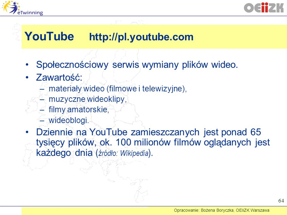 YouTube http://pl.youtube.com