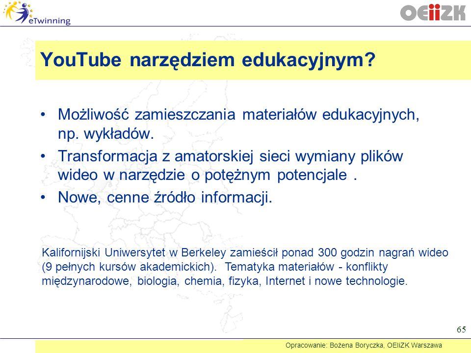 YouTube narzędziem edukacyjnym