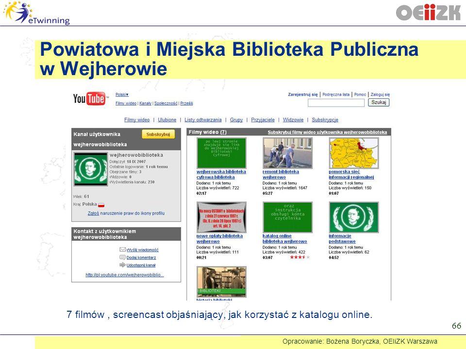 Powiatowa i Miejska Biblioteka Publiczna w Wejherowie
