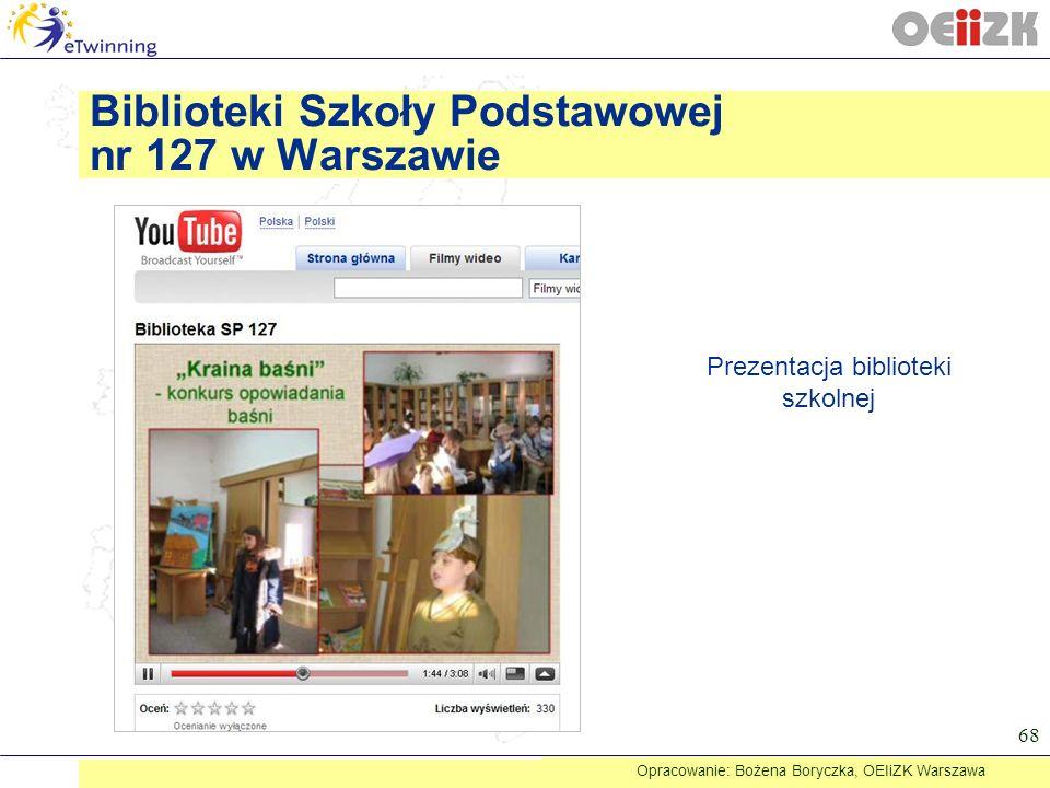Biblioteki Szkoły Podstawowej nr 127 w Warszawie