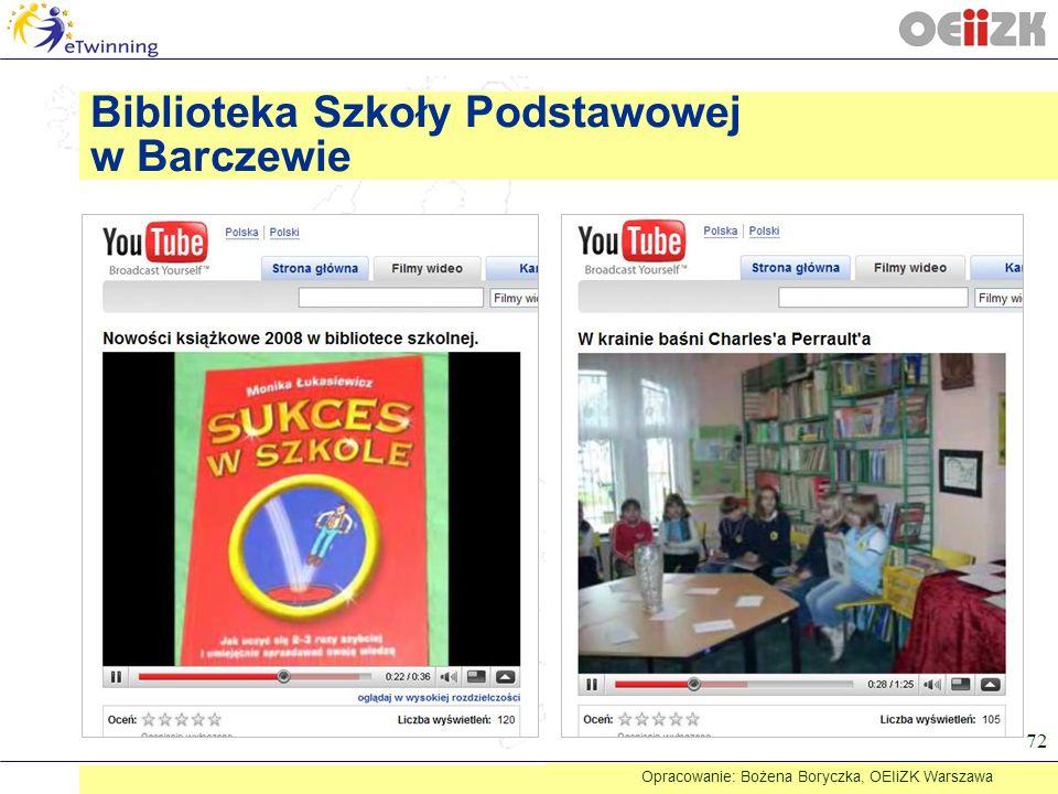 Biblioteka Szkoły Podstawowej w Barczewie