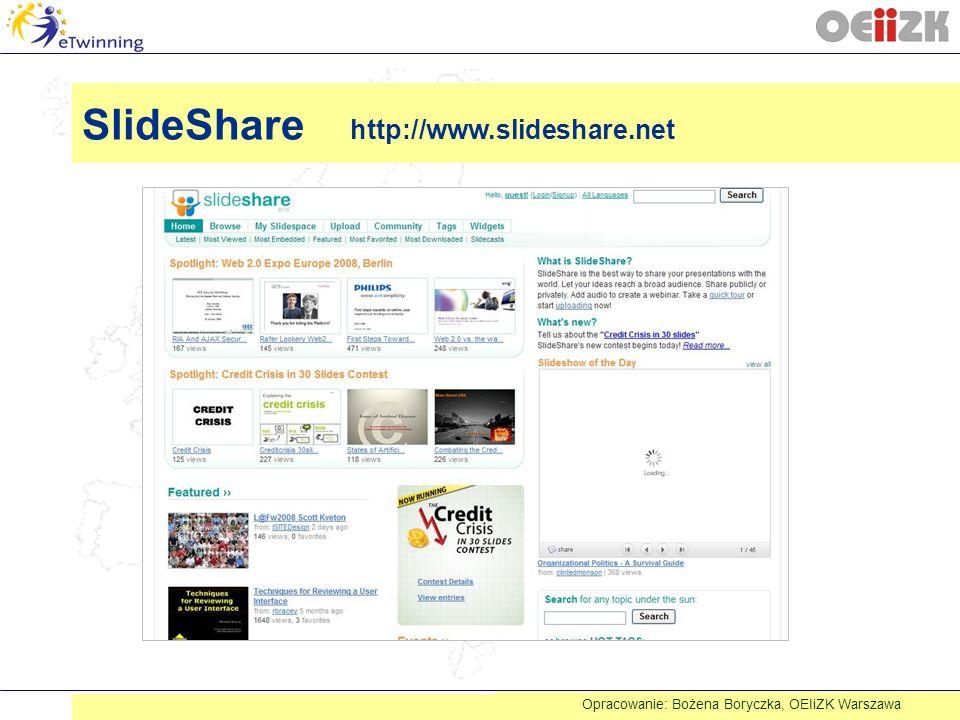 SlideShare http://www.slideshare.net