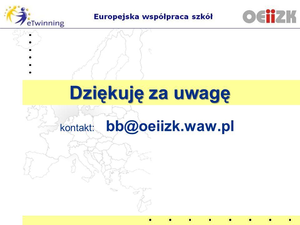 kontakt: bb@oeiizk.waw.pl