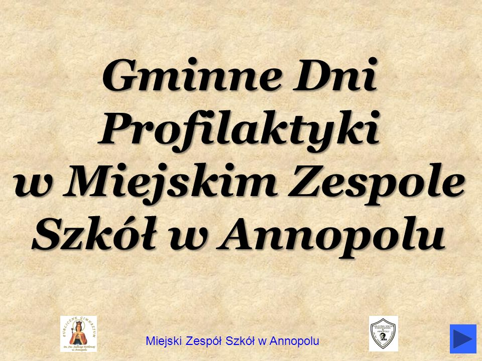 Gminne Dni Profilaktyki w Miejskim Zespole Szkół w Annopolu