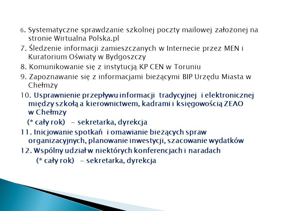 8. Komunikowanie się z instytucją KP CEN w Toruniu