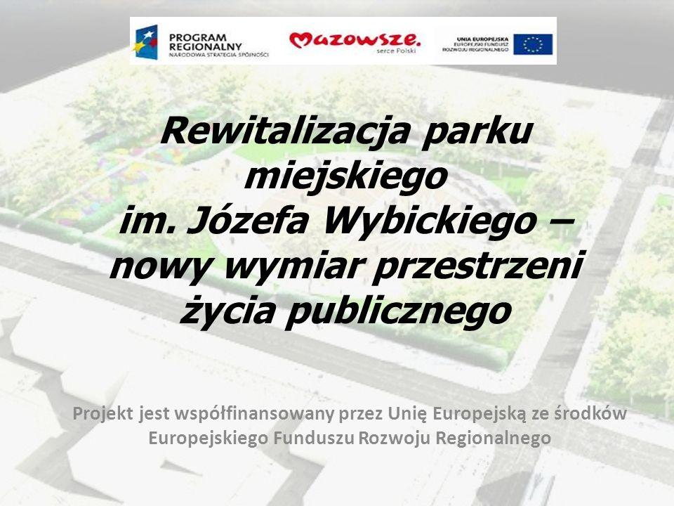 Rewitalizacja parku miejskiego im