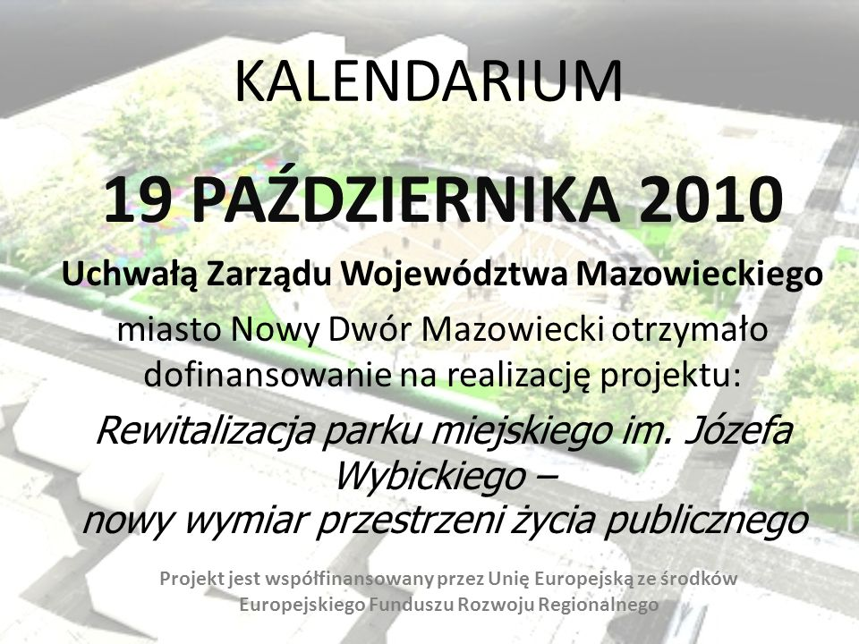 Uchwałą Zarządu Województwa Mazowieckiego