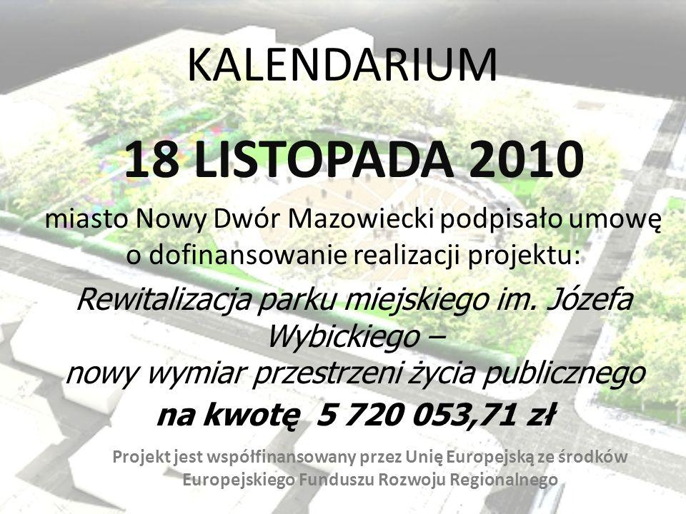 18 LISTOPADA 2010 KALENDARIUM