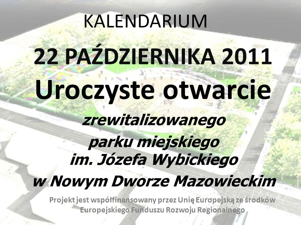 parku miejskiego im. Józefa Wybickiego w Nowym Dworze Mazowieckim