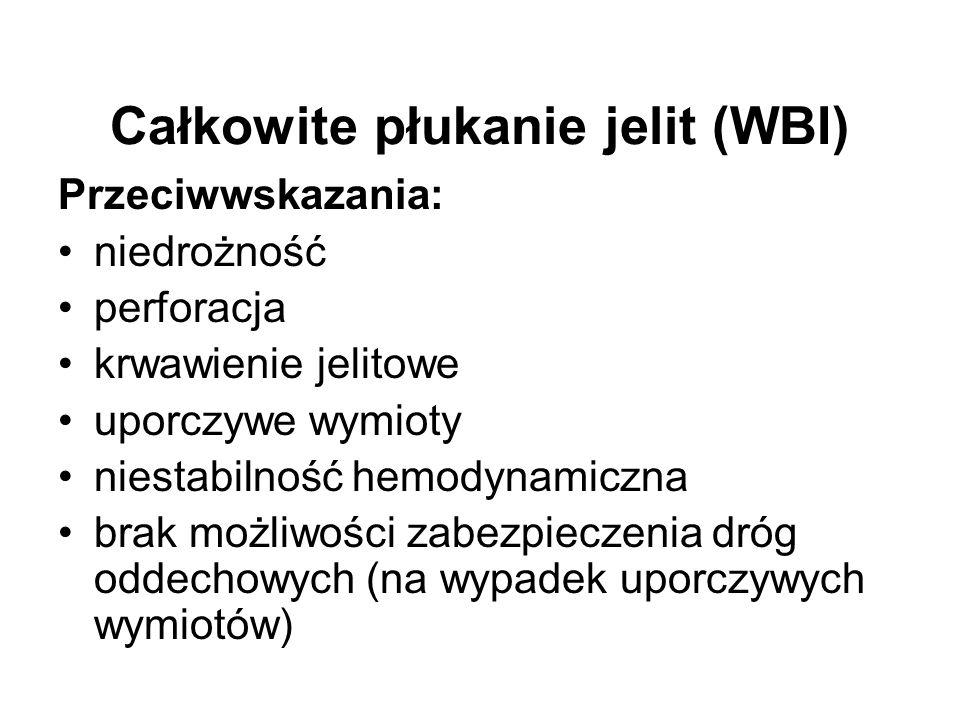 Całkowite płukanie jelit (WBI)