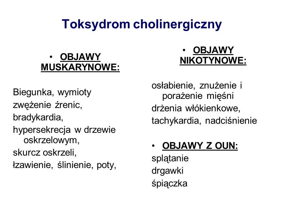 Toksydrom cholinergiczny