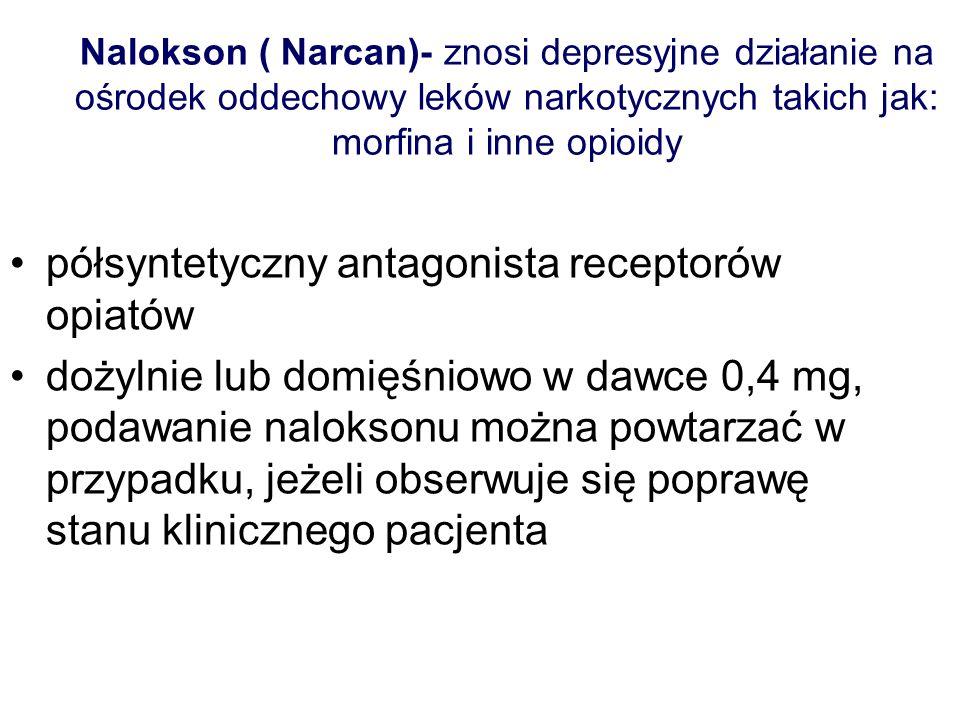 półsyntetyczny antagonista receptorów opiatów