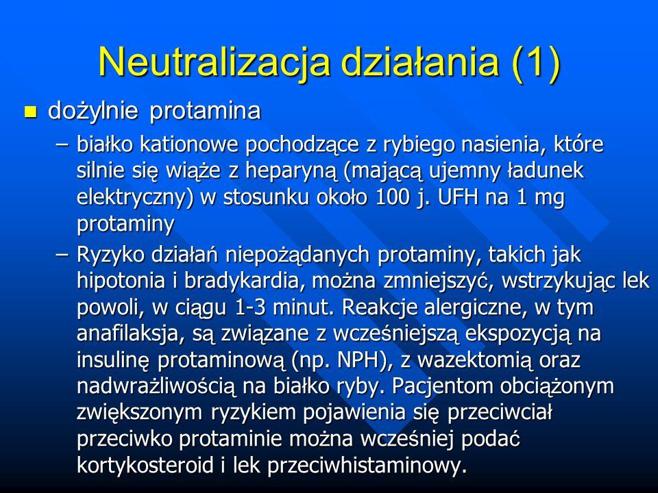Neutralizacja działania (1)