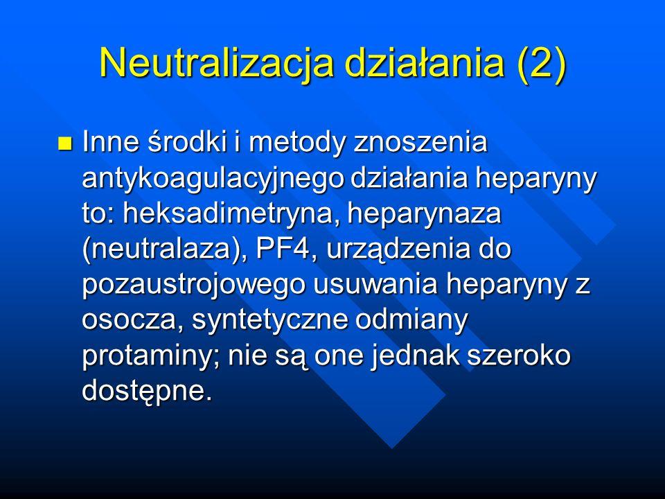 Neutralizacja działania (2)