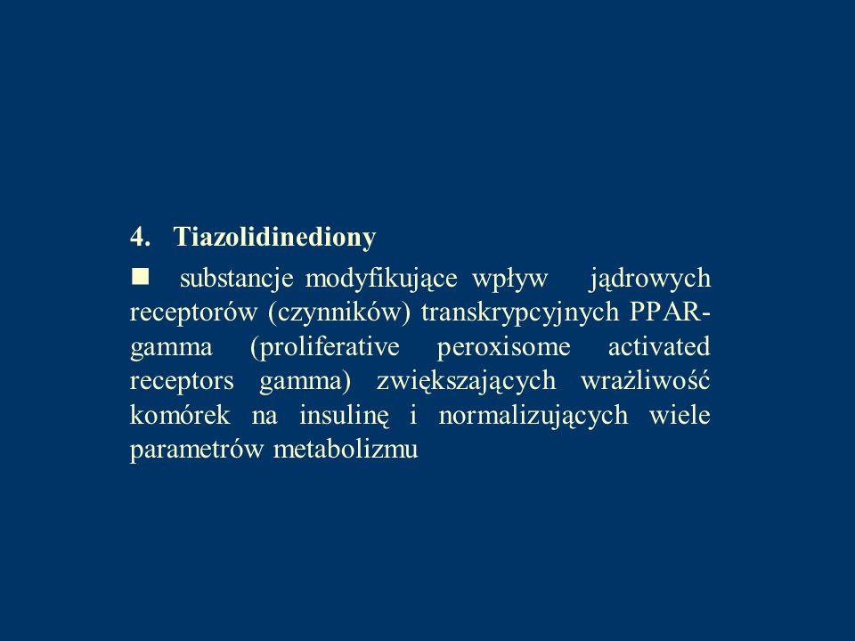 4. Tiazolidinediony