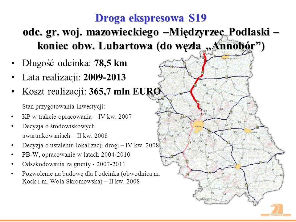 Droga ekspresowa S19 odc. gr. woj