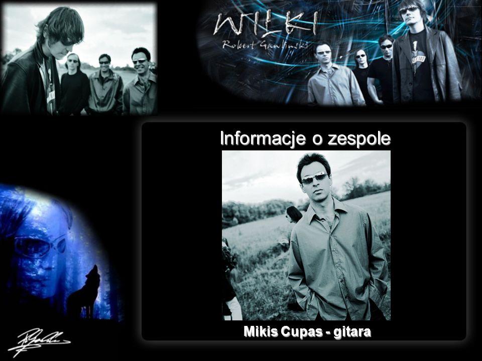 Informacje o zespole Mikis Cupas - gitara
