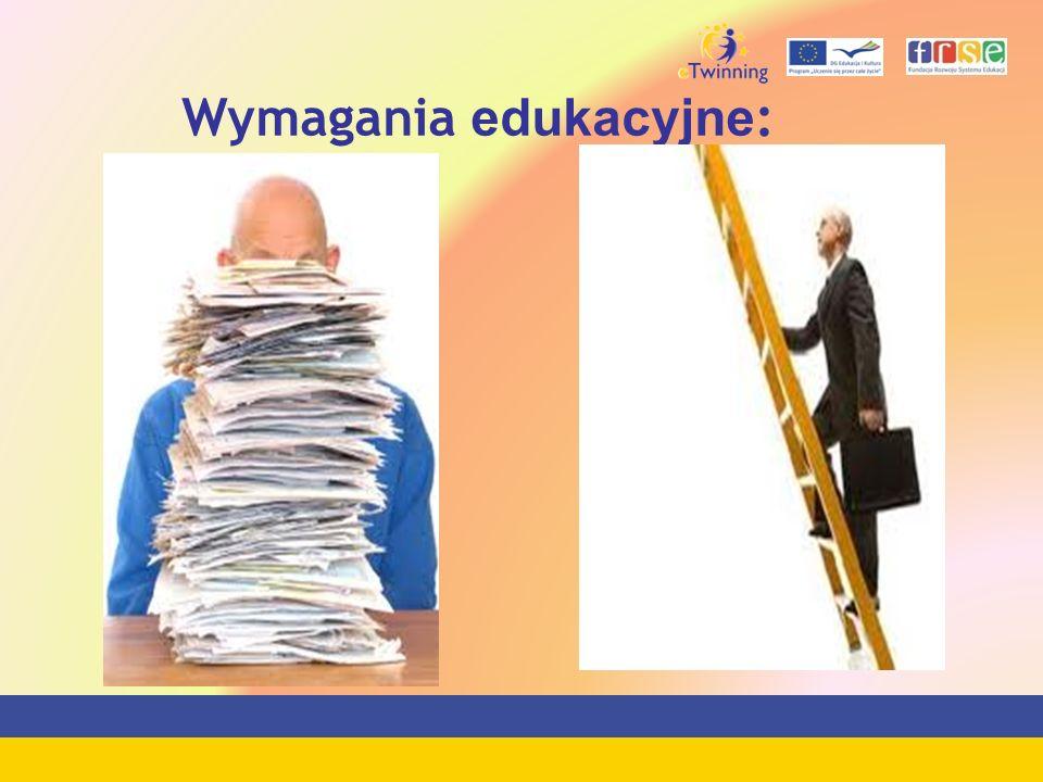 Wymagania edukacyjne:
