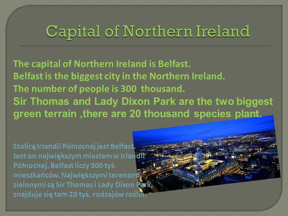 Capital of Northern Ireland