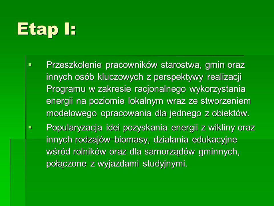 Etap I: