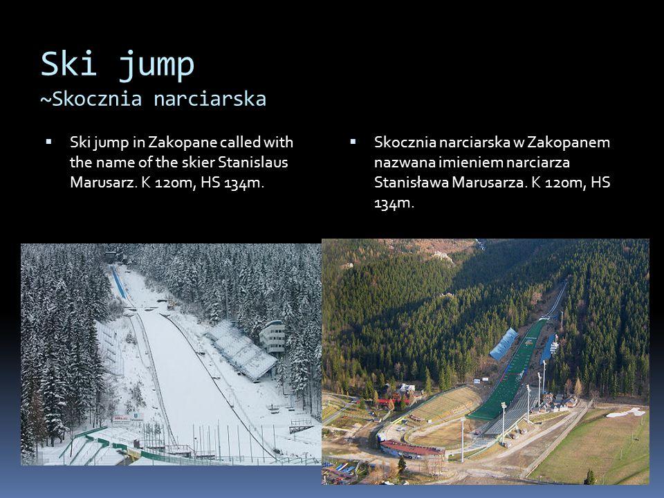 Ski jump ~Skocznia narciarska